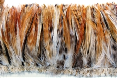 Hackle Fringe - Red Chinchilla