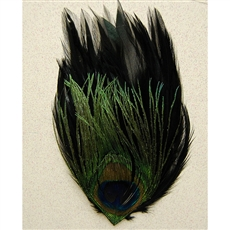 Pads - Hackle Pads w/ Peacock Eye