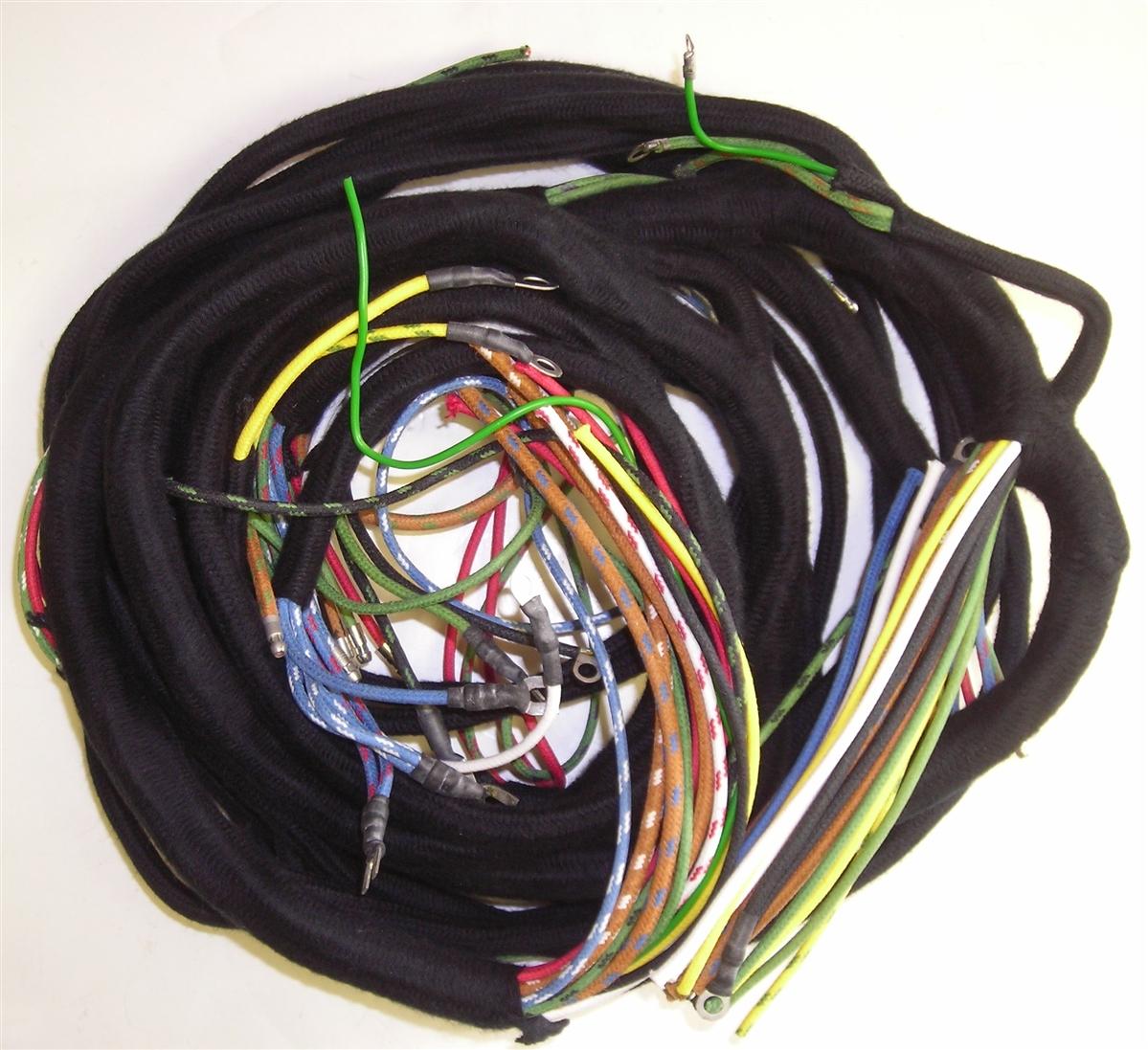 Main Wiring Harness for Triumph TR3 on triumph stag wiring, triumph tr4 wiring, porsche 914 wiring, ford mustang wiring, triumph gt6 alternator wiring, tr6 dashboard wiring, triumph scrambler wiring, triumph tr25 wiring, mg midget wiring, ford pinto wiring, jeep cherokee wiring, dodge dakota wiring, triumph tr6 wiring, triumph spitfire wiring,