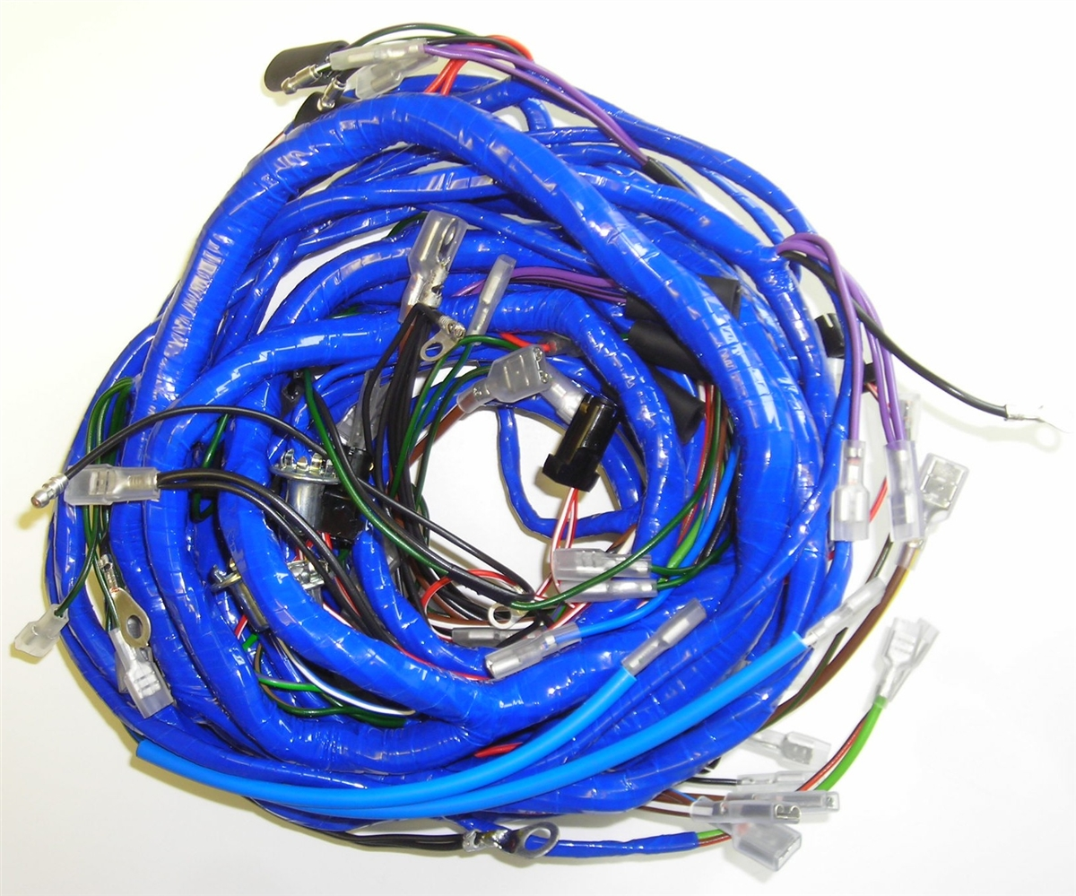 Triumph TR4A Main Wiring Harness on wire harness repair, wire harness assembly, wire harness testing, wire harness tubing, wire harness connectors, wire harness fasteners,