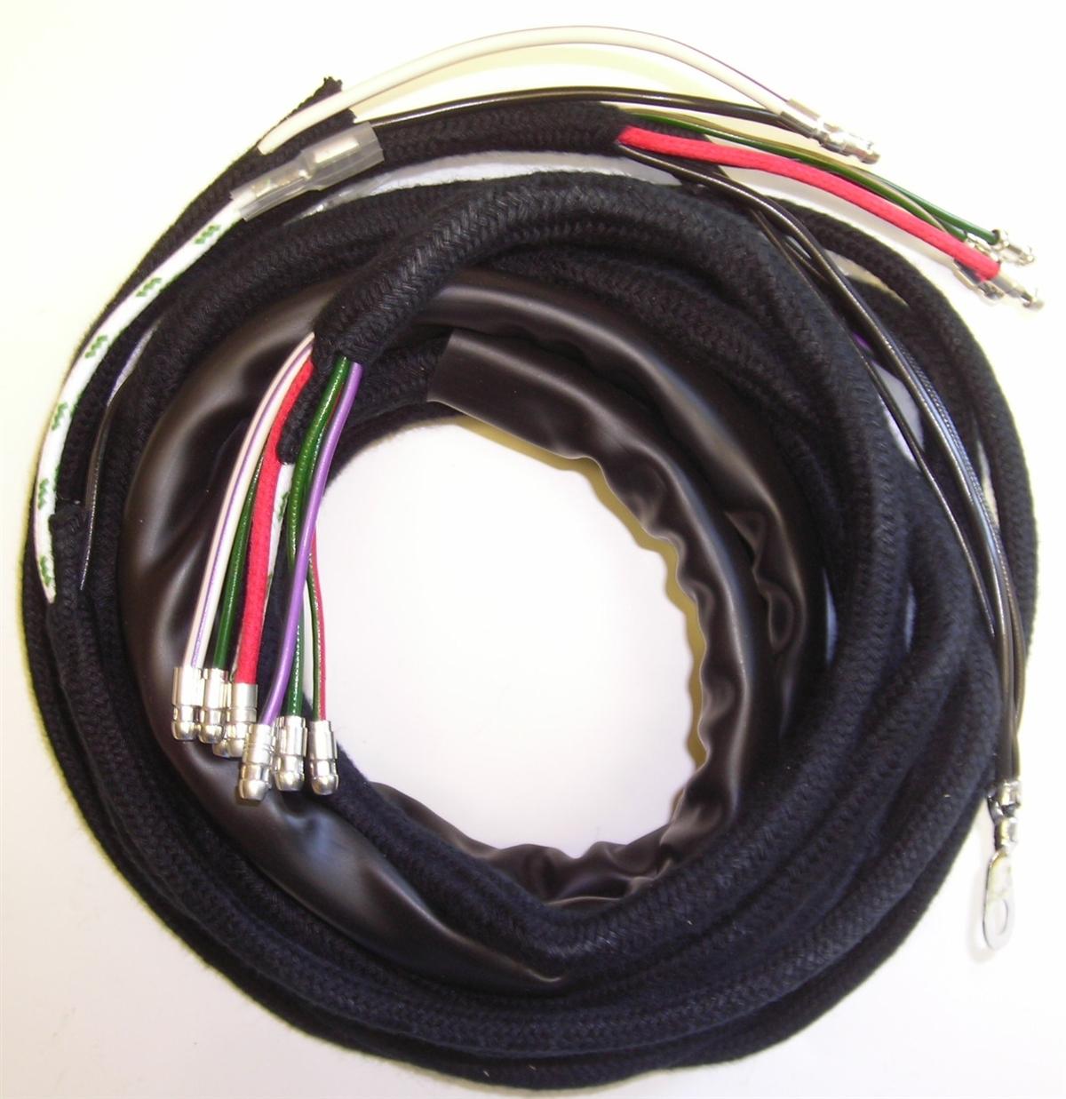 lh body wiring harness for 3 8 liter xke\u0027s (122) Jaguar XJ