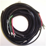 Jaguar XKE LH Body Wiring Harness