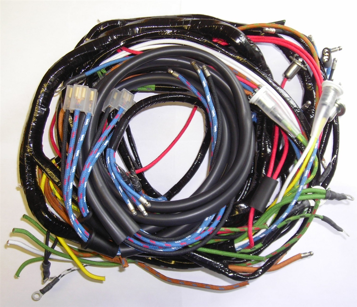 57 61 metropolitan main wiring harness rh britishwiring com main wiring harness nh tn75a main wiring harness for 2009 flhtp