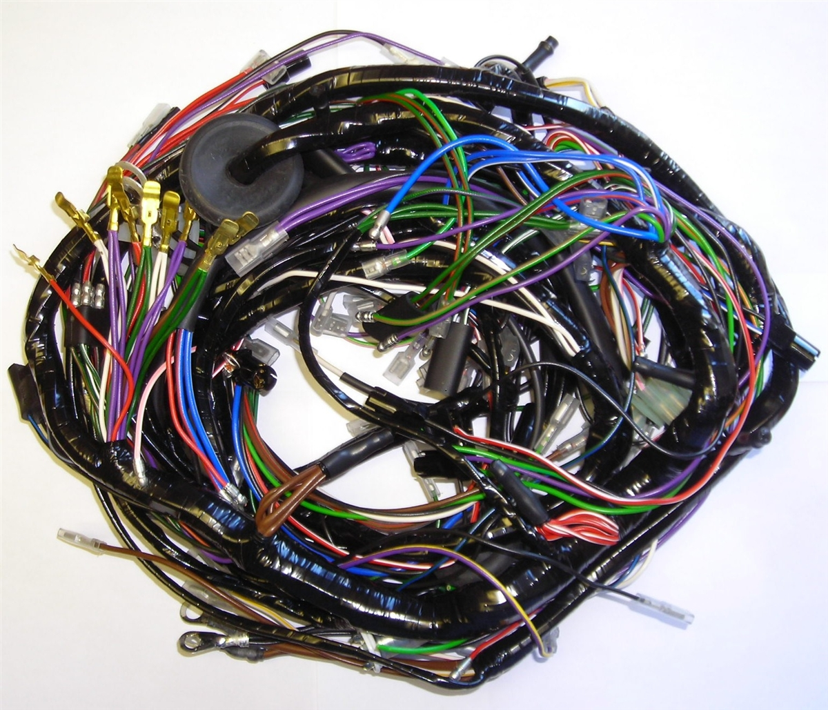 triumph spitfire 1500 main wiring harness rh britishwiring com wiring harness diagram wiring harness tape