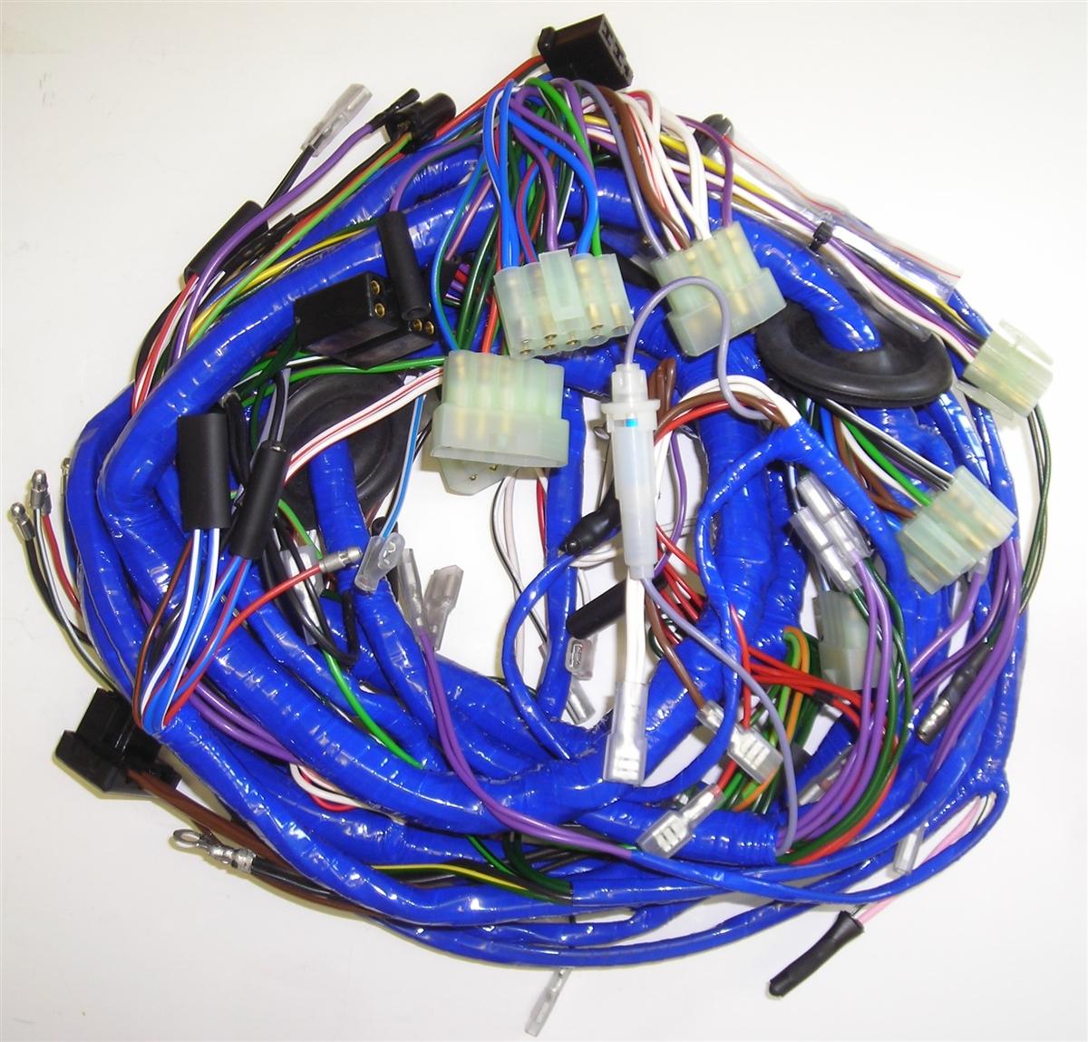 main wiring harness mg midget rh britishwiring com 1972 mg midget wiring harness