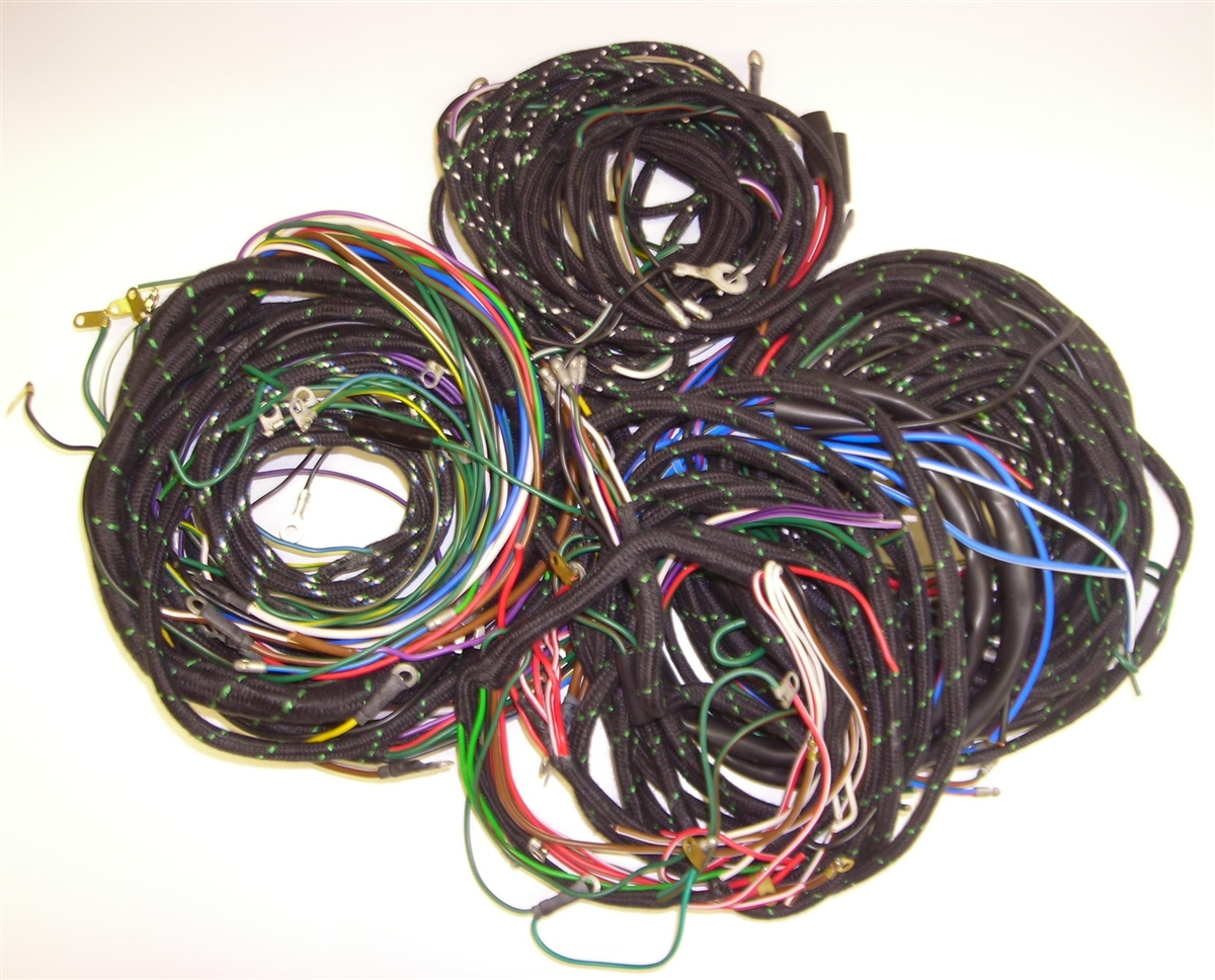 185PB 2?1354195192 1954 57 jaguar xk140 main wiring harness wire harness kits at gsmx.co