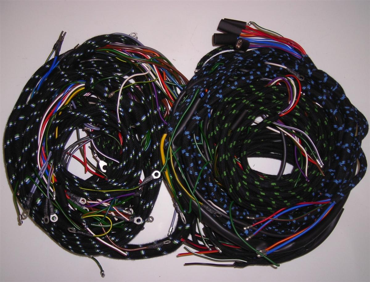 wiring harness set for early jaguar xk150 with manual trans (187pb) Jaguar XJ