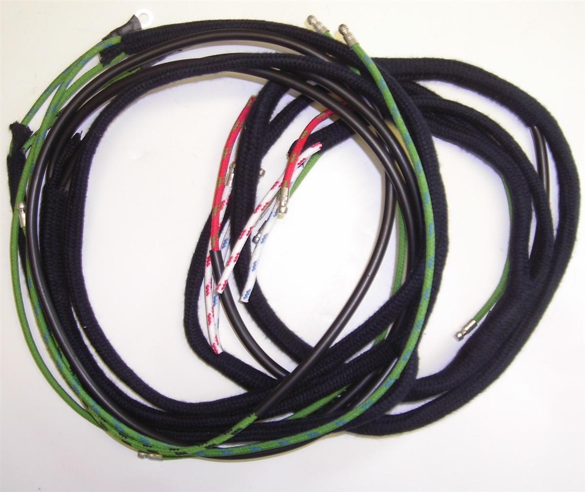 jaguar xk140 automatic gearbox wiring harness (192bb) Radio Wiring Harness Diagram