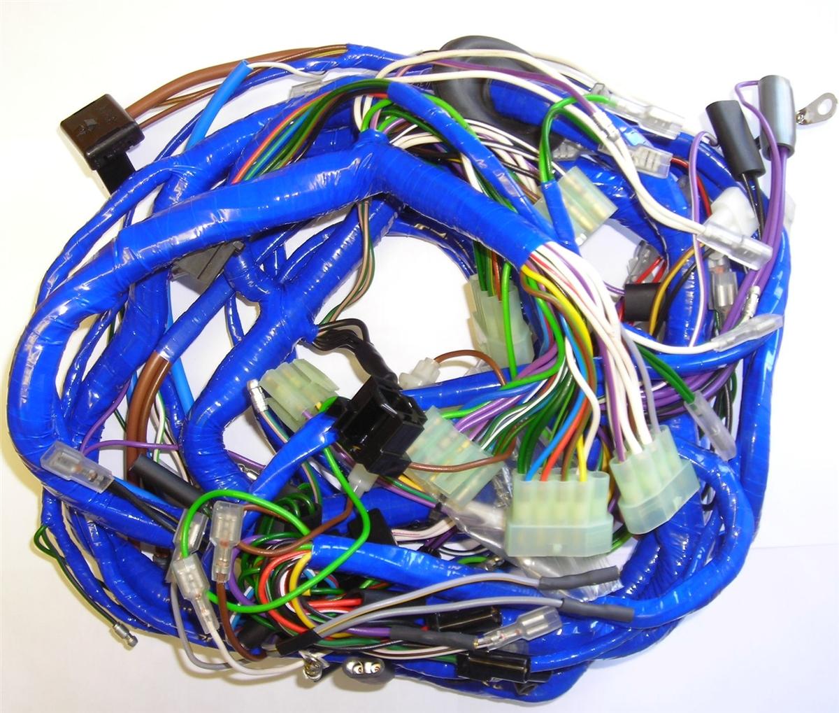 1975 MGB Main Wiring Harness, Federal Spec.British Wiring