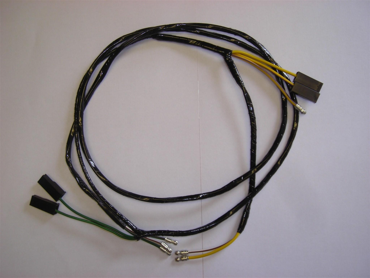 overdrive harness lower rh britishwiring com 1975 MGB Wiring -Diagram MGB Wire Connectors