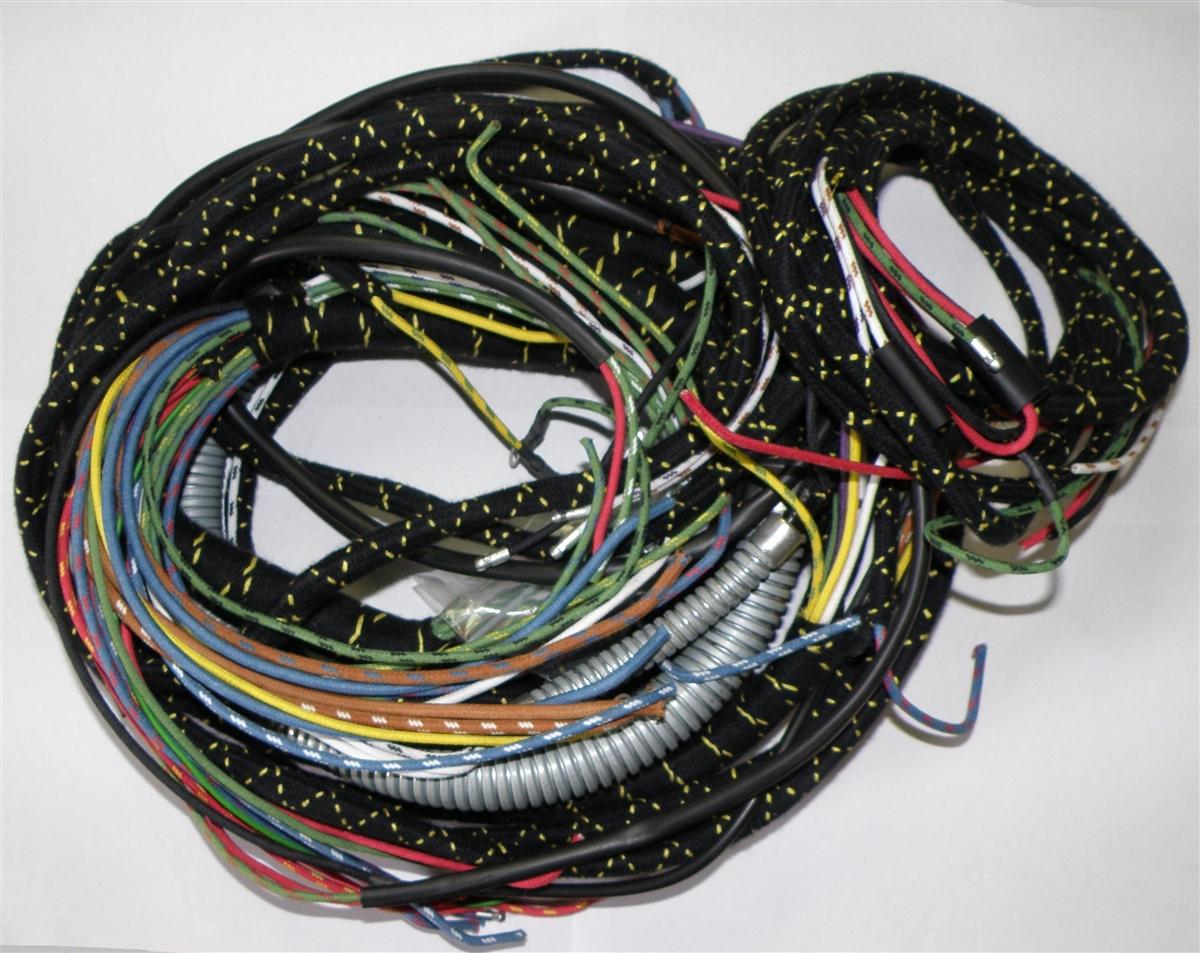 Main Wiring Harness, Conduit, Relay Flashers, (B,B)British Wiring