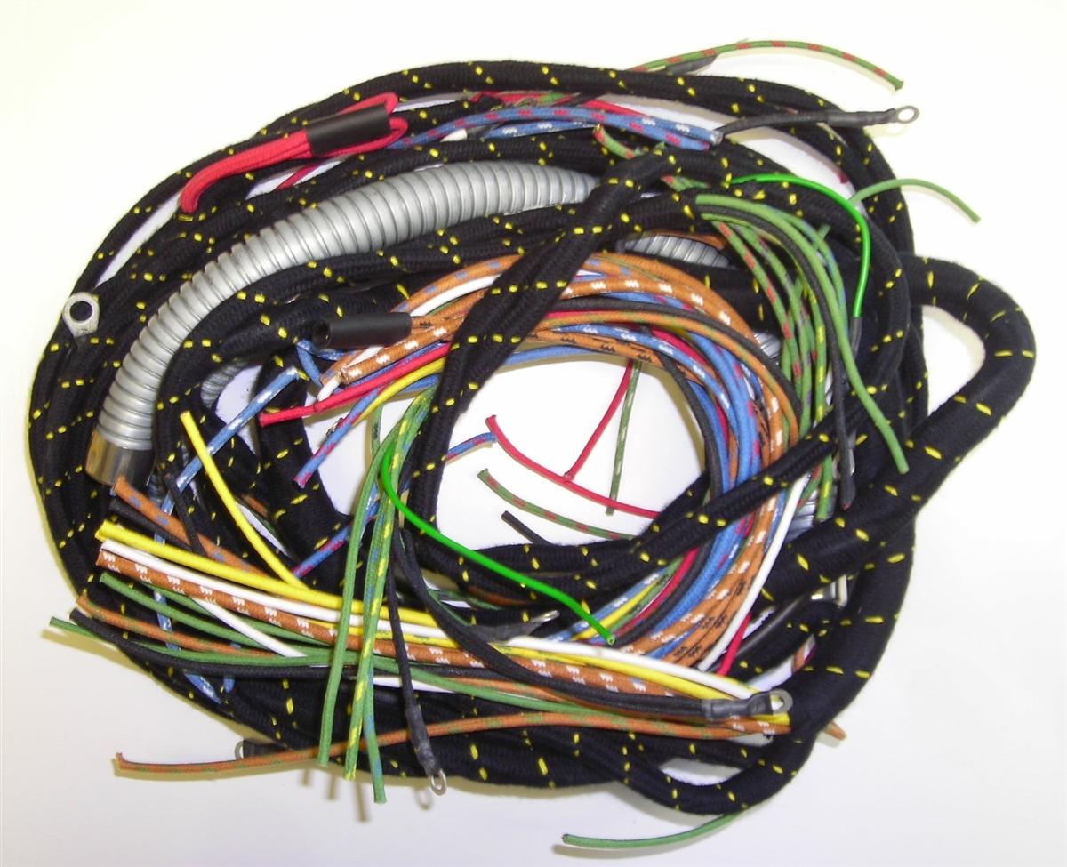 Main Wiring Harness With Conduit (B,B)British Wiring