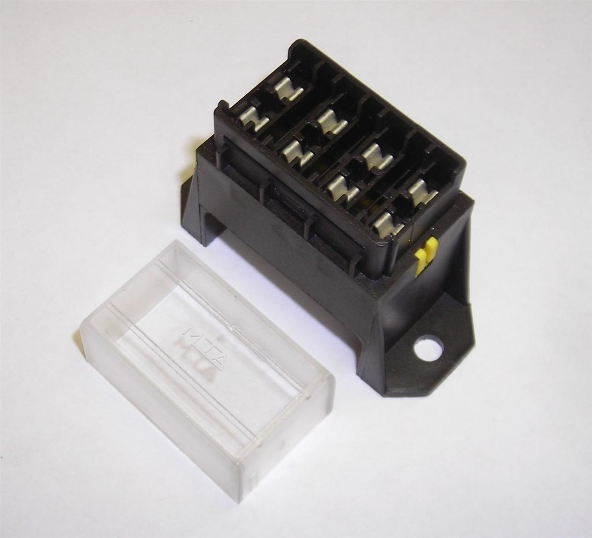 4-Way Fusebox for Blade FusesBritish Wiring