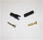 1-Way 3mm Pin & Socket Connector