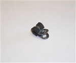 "3/16"" Rubber Lined Cable Clip"