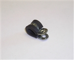 "3/8"" Rubber Lined Cable Clip"
