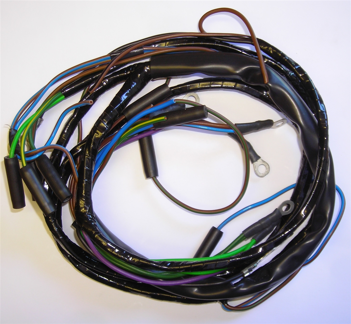 Super 1958 1960 Royal Enfield Constellation Main Harness Mc174Pp Wiring 101 Akebretraxxcnl