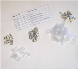 "1/4"" Female Spade Terminal Assortment Pack"