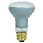 50R20FL/SAFETYCOATED/130V SILICONE COATED R20 FLOOD E26 BASE, 50R20FL/COATED/130V E26 BASE, COATED BULBS, SHATTER SHIELDED BULBS, SILICONE COATED BULBS, 50 WATT R20 SILICONE COATED FLOOD