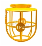 Topaz - 1780s Lighting Guard, Topaz #1780S, Topaz 1780S, Yellow Plastic Lighting Guard Topaz #1780S