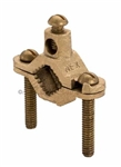 Topaz - 620DB Direct Burial Grounding Clamp, Topaz #620DB, Topaz 620DB, Bare Wire Direct Burial Ground Clamp Topaz #620DB