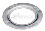 "Topaz - 909 Rigid Conduit Reducing Washer, Topaz #909, Topaz 909, 1-1/2"" x 1-1/4"" Steel Reducing Washer Topaz #909, 1-1/2"" to 1-1/4"" Steel Reducing Ring Topaz #909, 1-1/2"" to 1-1/4"" Steel Reducing Doughnut Topaz #909"