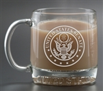 Custom Deep Etched Logo Mug America 13oz