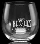 Logo 16.75 oz. Stemless Red Wine Glass