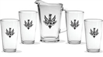 Logo Pitcher and Pint Set