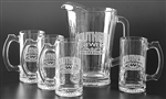 Custom Deep Etched Pitcher w-Mug Set