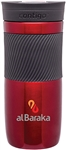 Custom Contigo Byron Red Steel Bottle 16oz