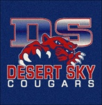 Custom School Logo Imprinted 5x5 ft. Rug
