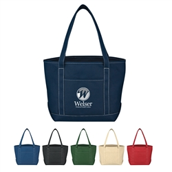 Promotional Cotton Canvas Medium Yacht Tote