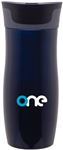 Custom Contigo Blue West Loop Steel Bottle 16oz