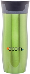 Custom Contigo Green West Loop Steel Bottle 16oz
