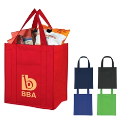 Promotional Matte Laminated Non-Knitted Shopper Tote