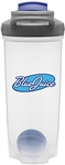 Custom Contigo Shake Blue Plastic Bottle 28oz