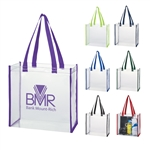 Promotional Clear PVC Tote Bag