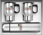 Promotional City Beverage Steel Three Piece Set