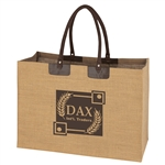 Promotional Jumbo Jute Biodegradable Tote Bag