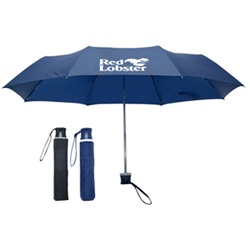 40 Inch Compact Promotional Umbrellas with Logo