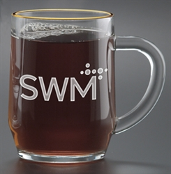 Logo 10 oz. Deep Etched Haworth Mug
