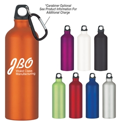 Custom Aluminum Bike Water Bottle 25oz