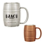 Custom Mule Barrel Moscow Mug 14oz