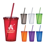 Custom Single Wall Economy Tumbler 20oz