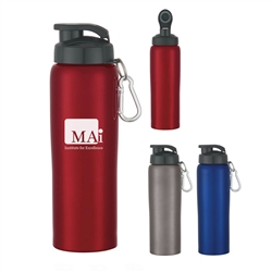 Custom Stainless Steel Bike Water Bottle 24oz