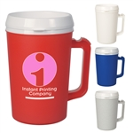 Custom Thermo Insulated Matte Finish Mug 34oz