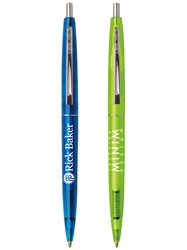 Promotional Clear Clics® BIC® Ballpoint