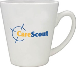 Custom Ceramic Café Mug 12oz