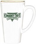 Custom Grande Ceramic Café Mug 16oz